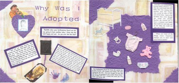 Amerikai lifebook: miért adtak örökbe. A kis képek mutatják, mire van szüksége egy kisbabának