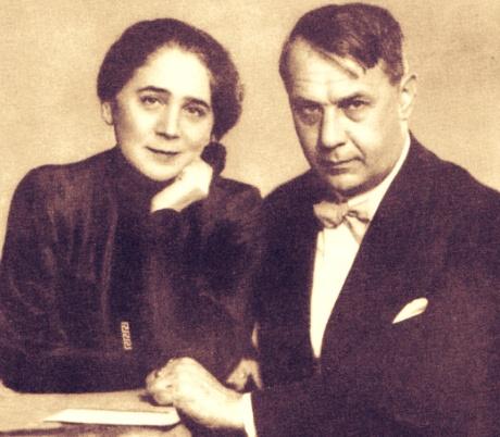 Kosztolányi Dezső és felesége